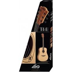 Комплект с акустична китара и аксесоари LAG T44A PACKEX