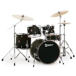 Акустични барабани Premier XPKEXC FASTFIVE 20 комплект с хардуер