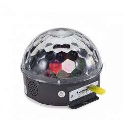Светлинен ефект кристална полусфера SOUNDSATION CB-630