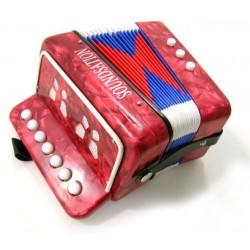 Мини акордеон червен SOUNDSATION ST-214R Red