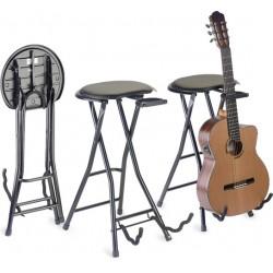 Столче и стойка за китарист STAGG GIST-350