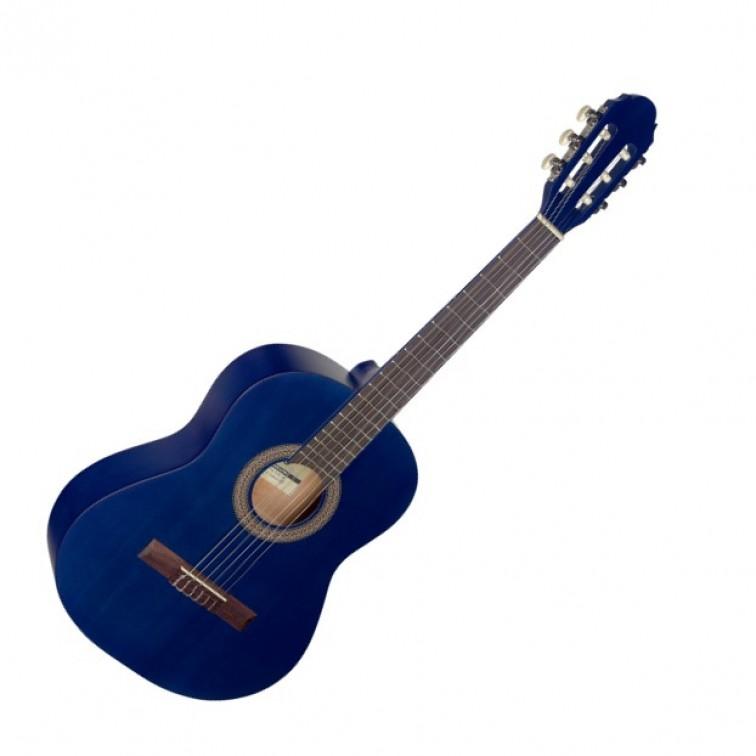 Класическа китара за деца STAGG C430 M BLUE 3/4 размер