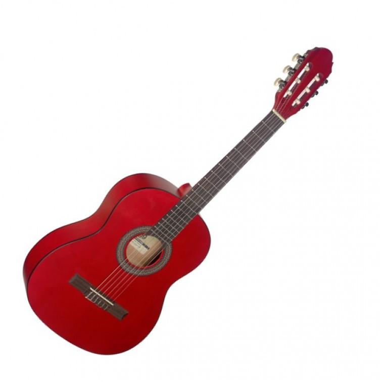 Класическа китара за деца STAGG C430 M RED 3/4 размер