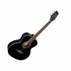 Акустична китара черен гланц Stagg SA20A BLK