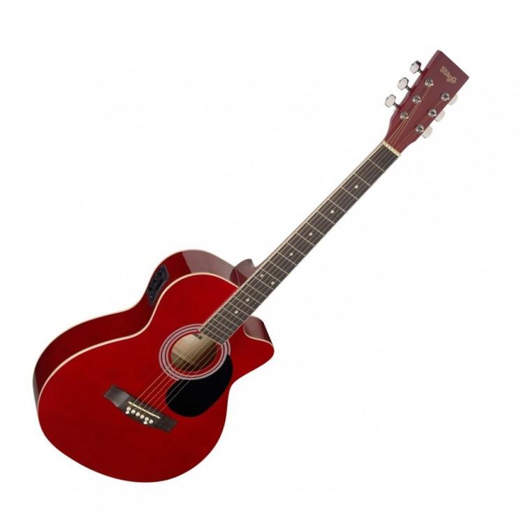 Електро-акустична китара SA20ACE RED