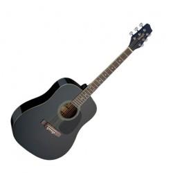 Акустична китара черен Stagg SA20D BLK
