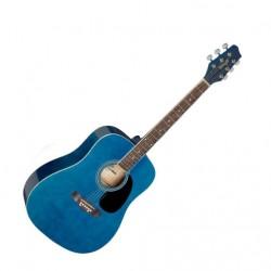 Акустична китара син Stagg SA20D BLUE