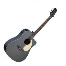 Електро-акустична китара – SA30DCE BK – Черен Stagg