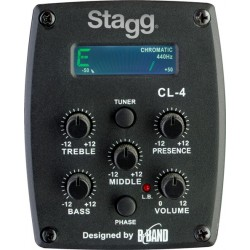 Електро-акустична китара – SA30DCE BS – Кафяв Stagg
