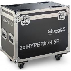 Дървен кейс-кутия STAGG SLI-FC-HYP5R/2 за 2 броя HYPERION BEAM 5R