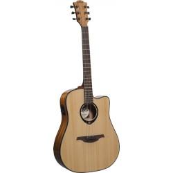 Електро-акустична китара LAG  - Модел T66DCE