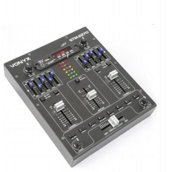 4 канален миксер с ефекти за DJ – Tronios