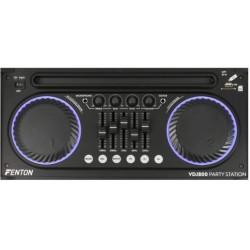 Тонколона за парти, с китарно озвучаване и ефекти Tronios VDJ800