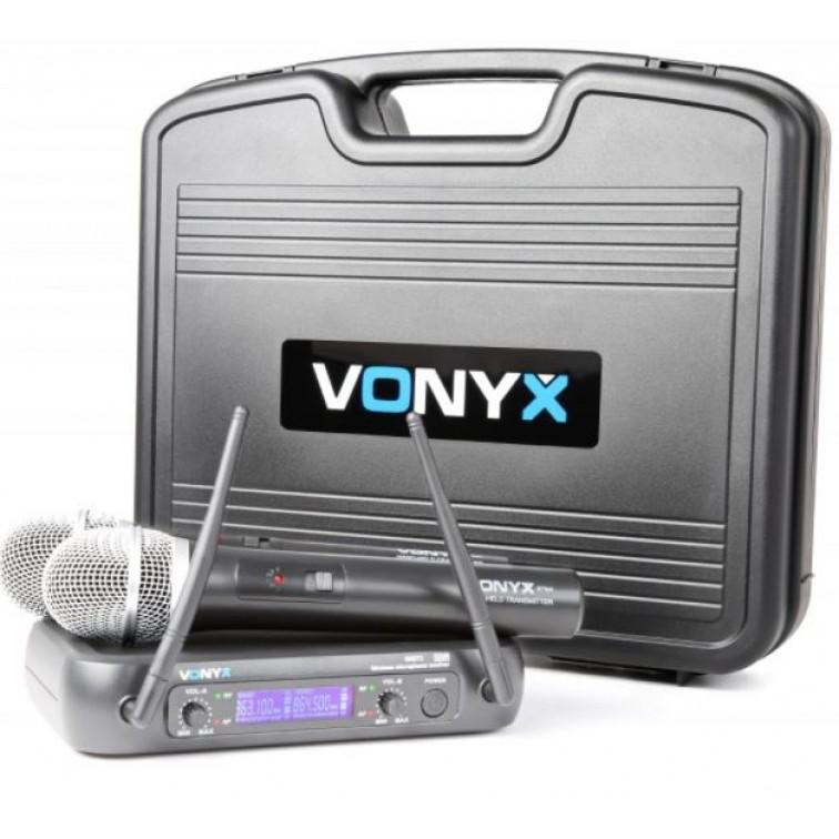 Безжична UHF система за два микрофона – Tronios WM73