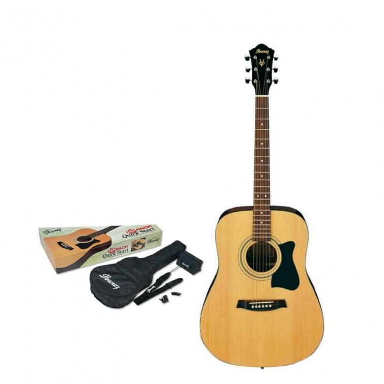 Акустична китара Ibanez V50NJP-NT комплект с аксесоари