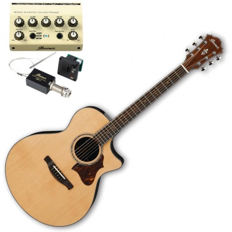 Електро-акустична китара висок клас – Ibanez AE900NT