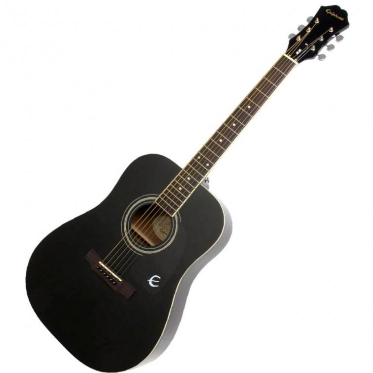 Акустична китара Epiphone DR-100 Ebony Ch Hdwe