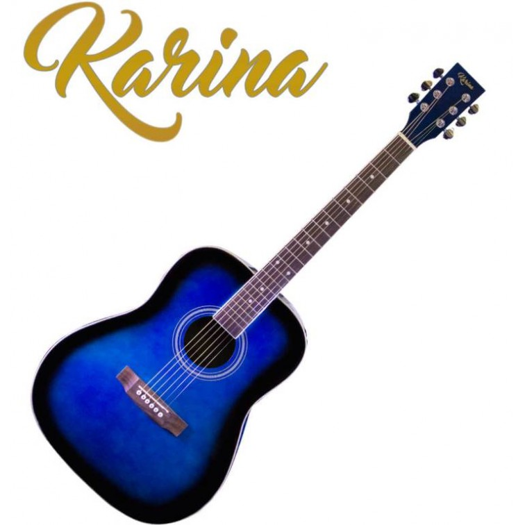"Акустична китара – Karina FG229-41"" Blue burst"