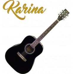"""Черна акустична китара – Karina FG229-41"""""""