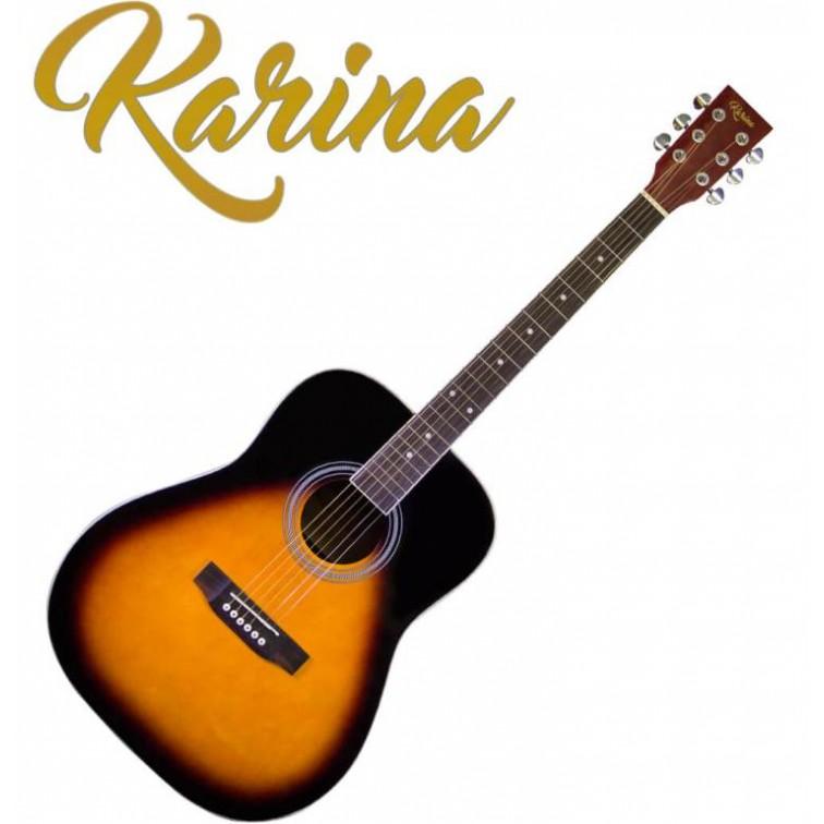 """Акустична китара – Karina FG229-41"""" Sunburst"""