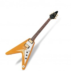 Електрическа китара Epiphone1958 Korina Flying-V Antique Natural EGV2ANGH3