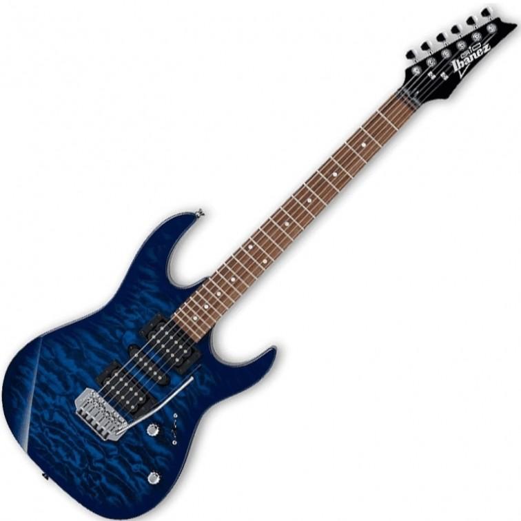 Електрическа китара Ibanez GRX70QA TBB – 6 струни