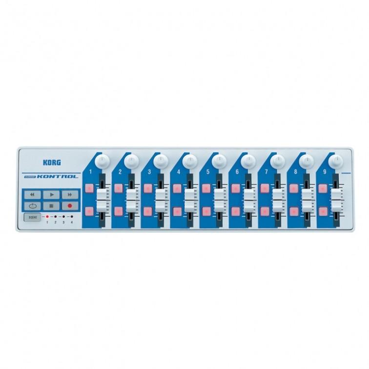 Мини MIDI контролер Korg Nanokontrol