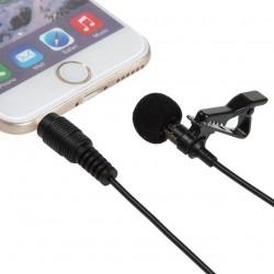 Мини микрофон с клипс