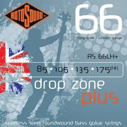 Струни за бас китара ROTOSOUND Drop Zone RS66LH+
