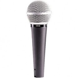 Професионален динамичен микрофон SHURE SM48S