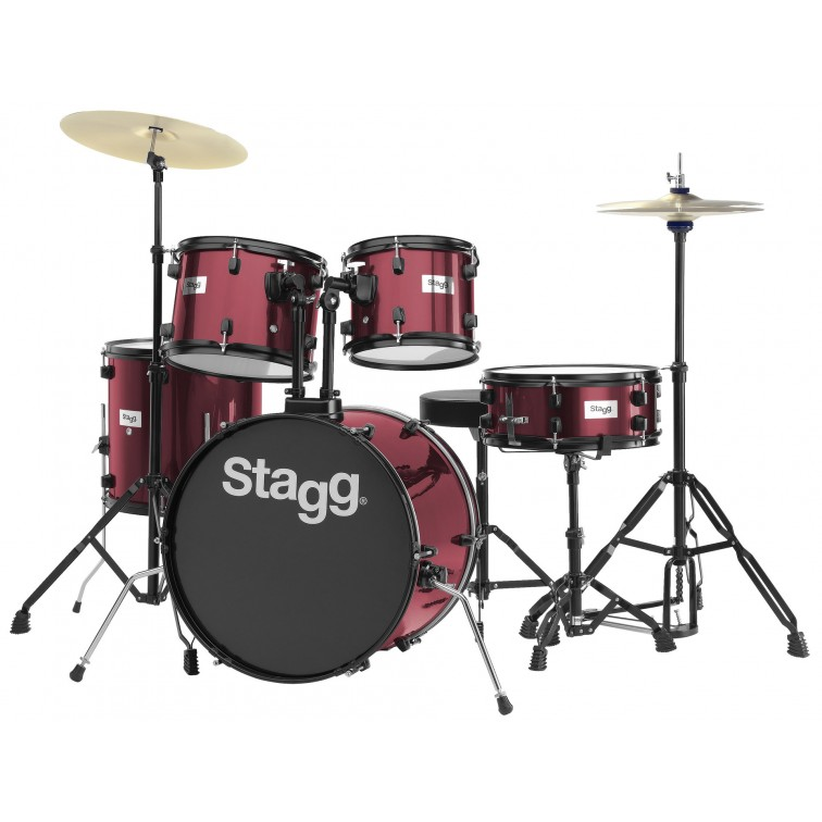 АКУСТИЧНИ БАРАБАНИ STAGG TIM120B WR КОМПЛЕКТ