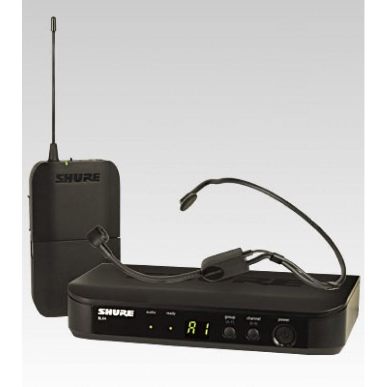 Безжичен микрофон за глава SHURE  BLX14E/P31-K3E