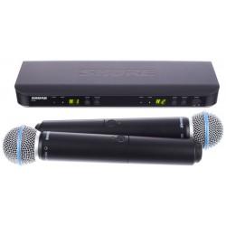 Двоен вокален микрофон безжичен - BLX288E/B58