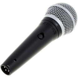 Вокален динамичен микрофон, черен  PGA48-XLR
