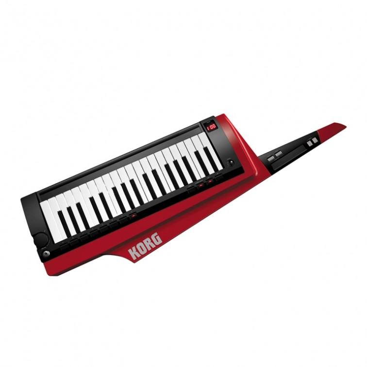 Червена клавитара синтезатор keytar KORG RK-100S-RD