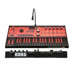Синтезатор червено черно KORG MicroKorg MK1-BKRD