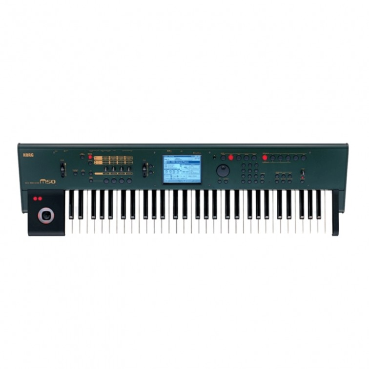 Синтезатор зелен цвят KORG M50-61 Green