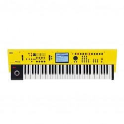 Синтезатор жълт цвят KORG M50-61 Yellow