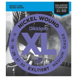 Струни за електрическа китара D'Addario EXL115BT
