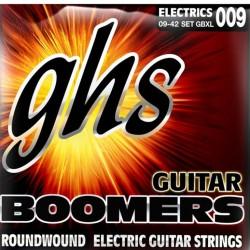 Струни за електрическа китара GHS екстра леки 9-42