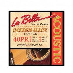Струни за акустична китара La Bella 40PR SET