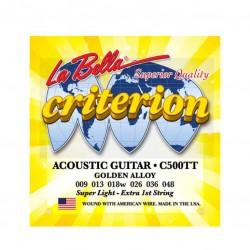 Струни за акустична китара La Bella C500TT SET CRITERION