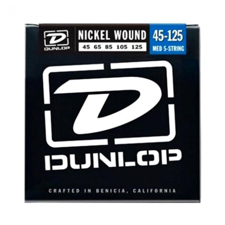 5 струни за бас китара Dunlop BASS NK MED 5STR