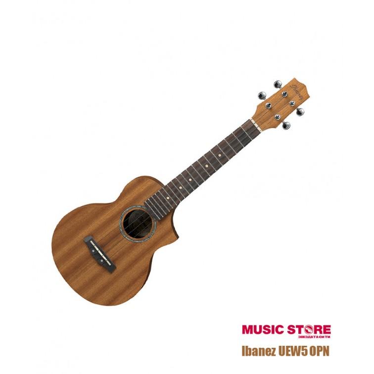 Моделът е нанесен: https://musicshopbg.com/soprano-ukulele-ibanez-UEW5_OPN?search=Ibanez%20UEW5%20OPN