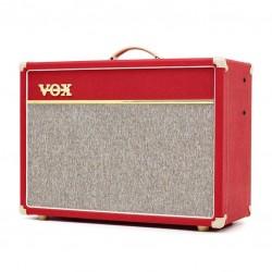 Червен китарен усилвател (комбо) VOX AC15C1-V-RD