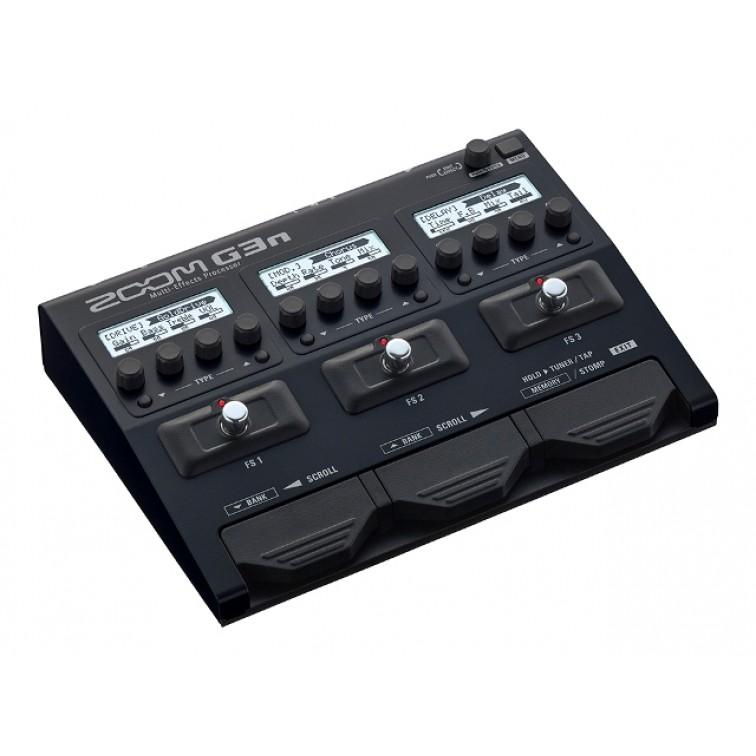 Мулти-ефект китарен процесор ZOOM-G3n